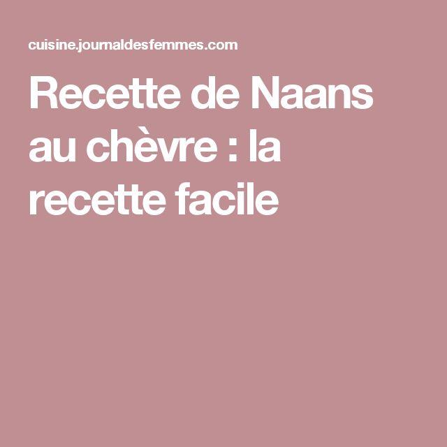 Recette de Naans au chèvre : la recette facile