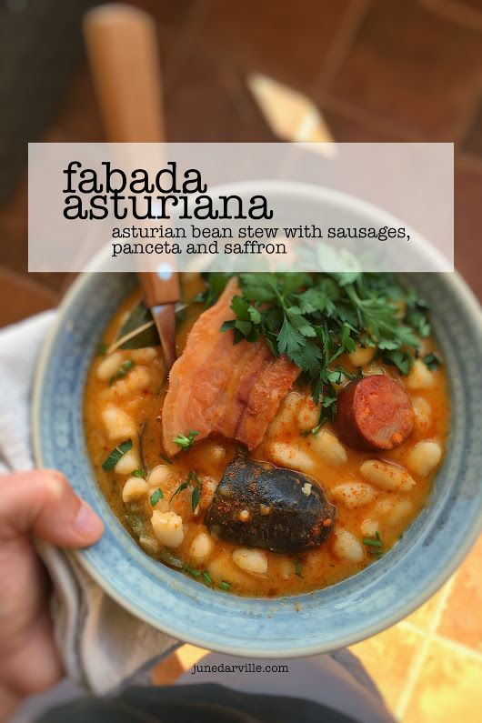 Fabada Asturiana   Simple. Tasty. Good.