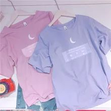 Women fashion T Shirt Korea ulzzang Harajuku style Japanese wild sweet soft sist…