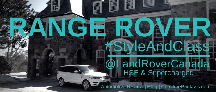 2014 Range Rover HSE & Supercharged Test Drives #LandRover #RangeRover #HSE #Supercharged #Review #Automotive #Cars #Motorsports #Luxury #Style #Class #Driving #AllWheelDrive #EstatesOfSunnybrook #BlogCoverImage #Feature
