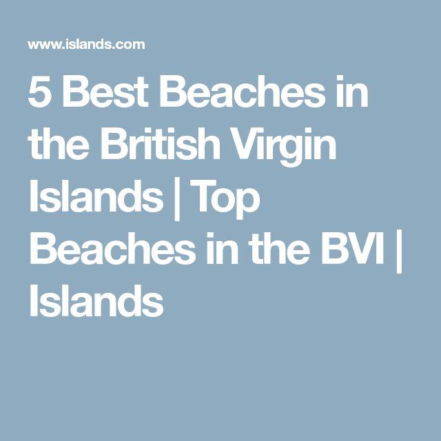 5 Best Beaches in the British Virgin Islands | Top Beaches in the BVI | Islands