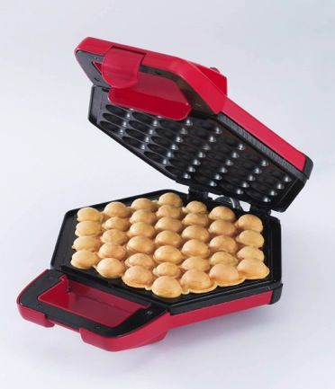 Love the fluffy taste of Hong Kong's street delight Eggettes? Now you can make your own with this recipe and new waffle makers from Cornell. #eggettes #recipe