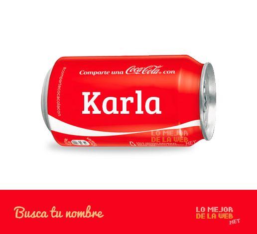 latas-de-cocacola-con-nombres-karla on Lo mejor de la web  http://lomejordelaweb.net/wp-content/uploads/2014/07/latas-de-cocacola-con-nombres-karla.jpg