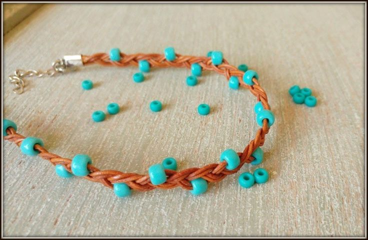 Women's Turquoise Ankle Bracelet, Turquoise Leather Anklet With Beads. Turquoise Braided Leather Cord Anklet With Beads.Custom made choice of colors WE ALL NEED ACCESSORIES to upgrade our outfit... Anklets and bracelets have always been there especially to give us this feeling of freedom , sunshine and new beginnings ... Thin leather cord ankle bracelet with sea turquoise beads .... sea scene , yoga , meditation or just city park sunbath.. Choose your favorite colors for the beads and you...