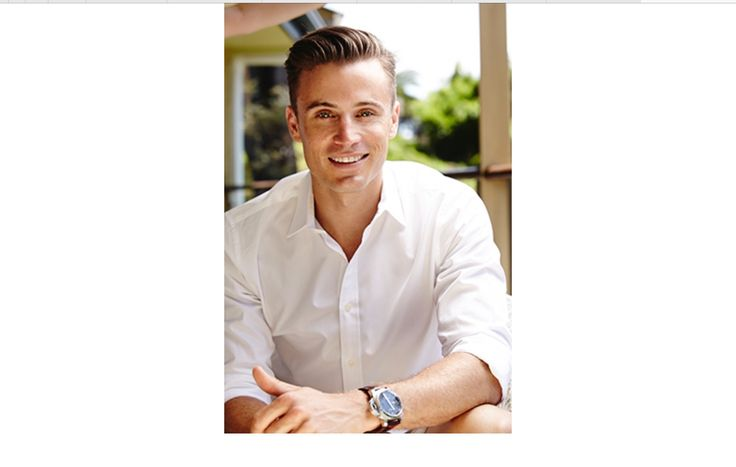 The only sexy guy on weekend sunrise is James Tobin