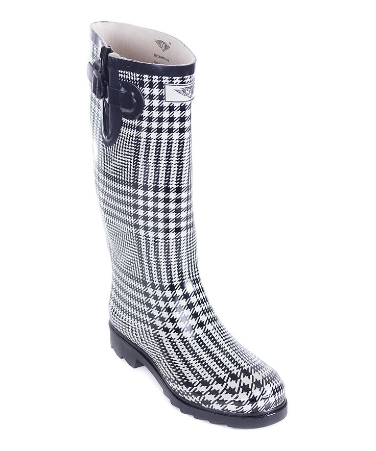 1000  ideas about Black And White Wellington Boots on Pinterest