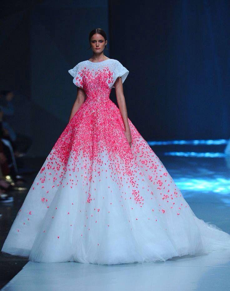 Rochie de vis!!!! Pink dress white dress petals