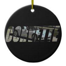 2013 Corvette Convertible Ceramic Ornament