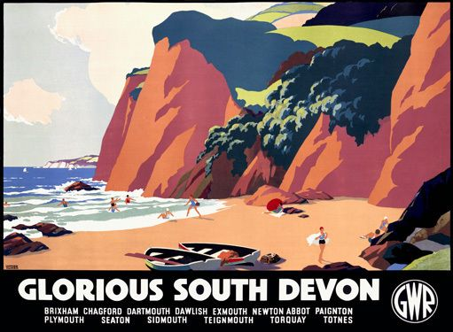 GWR Railway South Devon Beach #Devon www.ilovesouthdevon.com