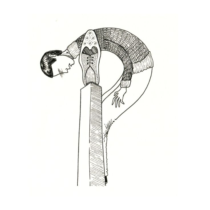"P is for Prue trampled flat in a brawl. ""The Gashlycrumb Tinies"" by Edward Gorey"