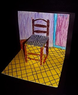 Van Gogh pop up chairs, how to