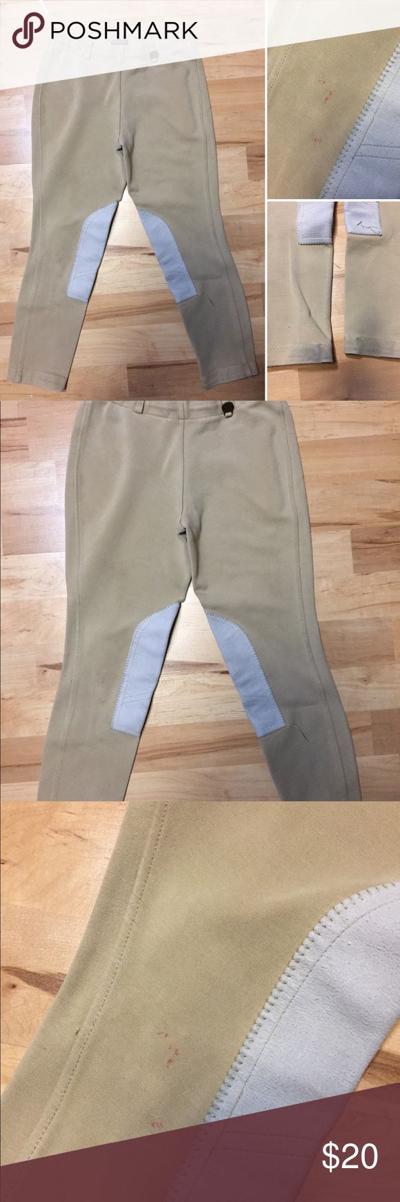 Ovation Children's Sz 12 Riding Breeches EUC! Small minor spots on them. Great condition and has a lot of life left to them.   Tags: equestrian breeches riding horses ovation ariat romfh Kerrits Ovation Bottoms