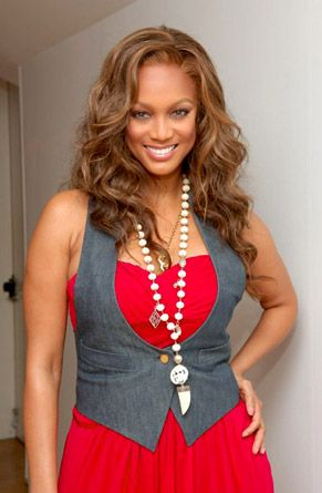 Tyra Banks...from Victoria Secret model to actress to tv host...and more beautiful than ever!