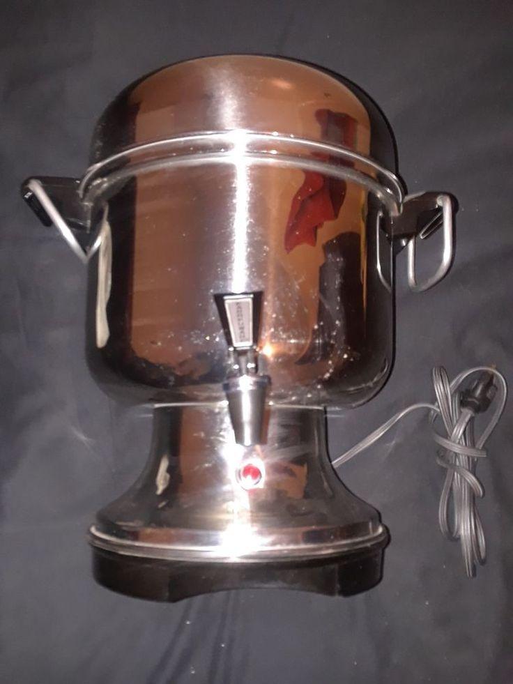 Farberware Coffee Urn 12-36 cup Coffee Maker - Silver model L1360  #Farberware