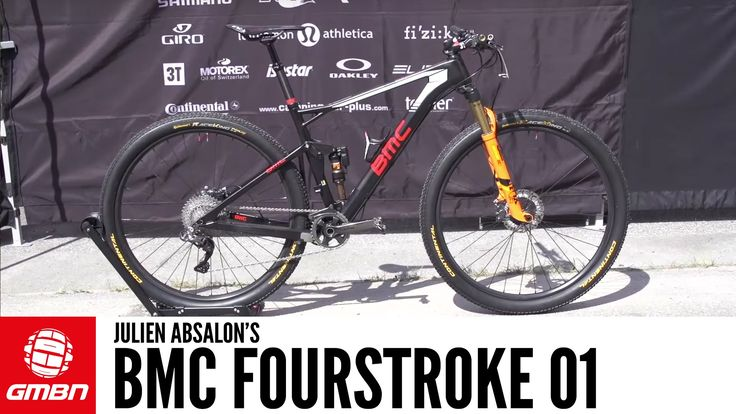 Julien Absalon's BMC Fourstroke 01 + Bonus Interview - VIDEO - http://mountain-bike-review.net/mountain-bike-reviews/julien-absalons-bmc-fourstroke-01-bonus-interview-video/ #mountainbike #mountain biking