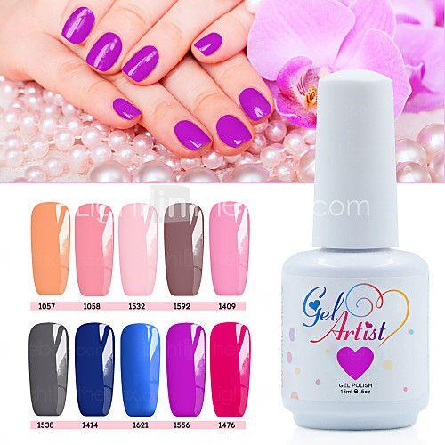 12 τεμ / ρυθμίσετε το 2016 τζελ νυχιών νέα νυχιών απολαύσετε off uv gel χρώμα βερνίκι μακράς διαρκείας βερνίκι νυχιών gel - EUR €33.31