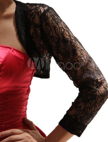 Coprispalle nero di pizzo- shawl with lace