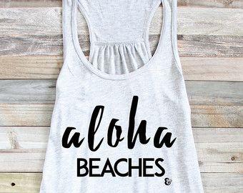 Adios Beaches Beach Puns Beach Tank Funny Beach by PowderAndSea