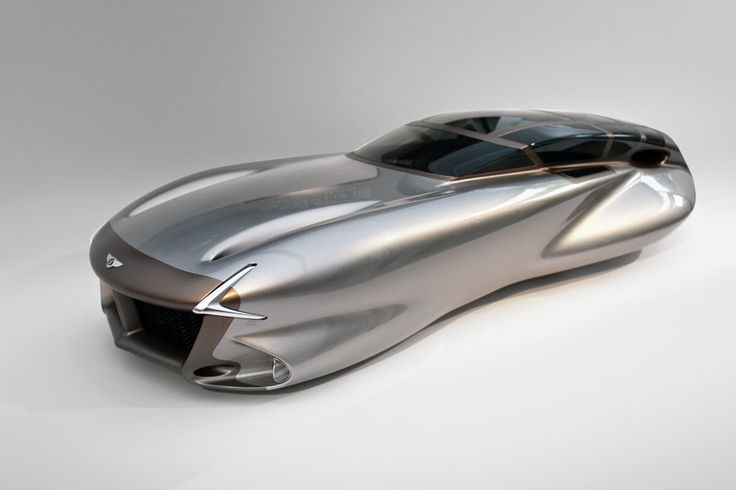 The 'Super Normal' Bentley - The roof is made from VC 3341 - a UV stable, water clear polyurethane vacuum casting resin.