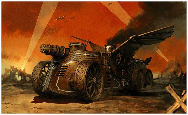 Bat Tank by Waldemar von Kozak