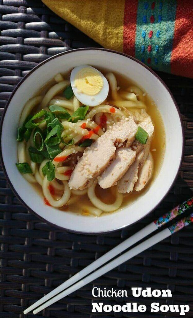 Easy Chicken Udon Noodles Soup Recipe Recipe In 2020 Udon Noodle Soup Udon Noodles Chicken Udon Noodle Soup