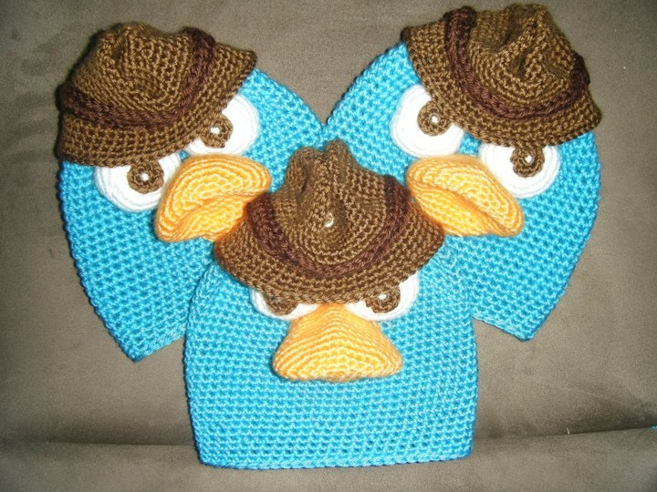 LOVE these hats. Ordered 3 for the girls for Christmas. They are obsessed with Perry the Platypus from Phinneas and Ferb