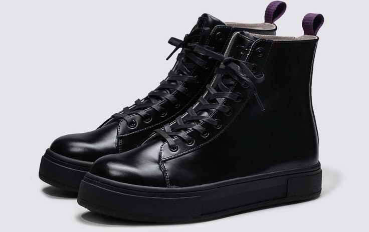 #Eytys Kibo Leather All Black.