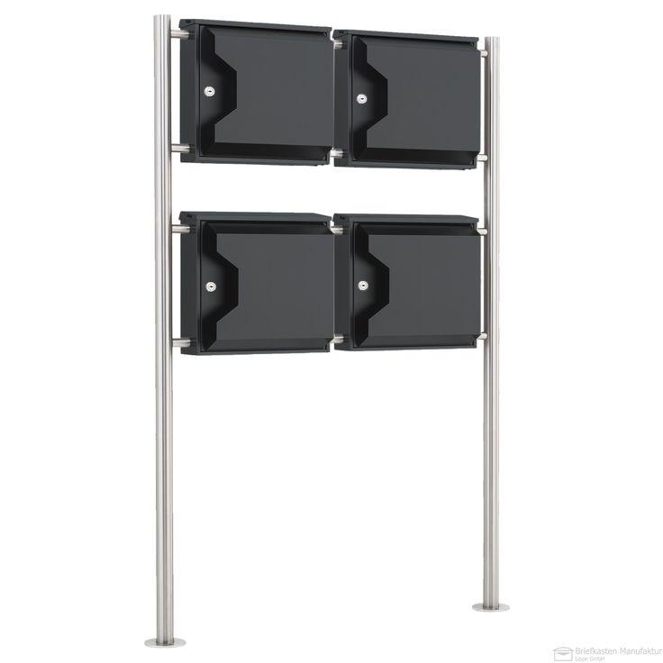 167 besten freistehende briefkastenanlagen bilder auf pinterest. Black Bedroom Furniture Sets. Home Design Ideas