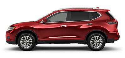 Photo of the Nissan Rogue SV Moonroof Crossover vehicle