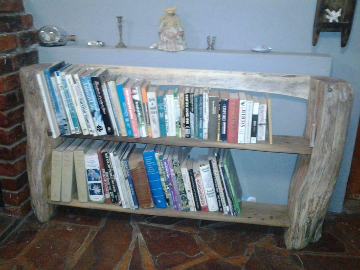 Split-Stump Bookshelf