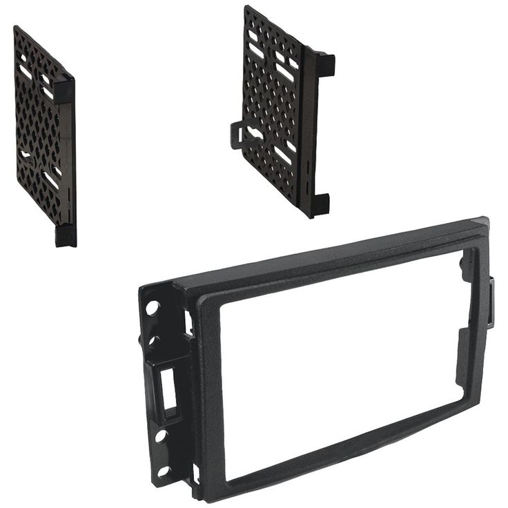 Best Kits Buick Terraza And Chevrolet Corvette & Uplander And Hummer H3 And Pontiac Montana Sv6 And Saab 97x And Saturn Relay 2005-2013 Double-din Kit