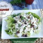 Healthy Waldorf Salad