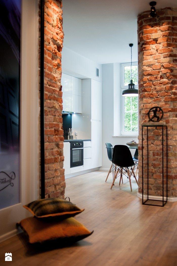 Kuchnia styl Industrialny - zdjęcie od Arkadiusz Grzędzicki projektowanie wnętrz - Kuchnia - Styl Industrialny - Arkadiusz Grzędzicki projektowanie wnętrz
