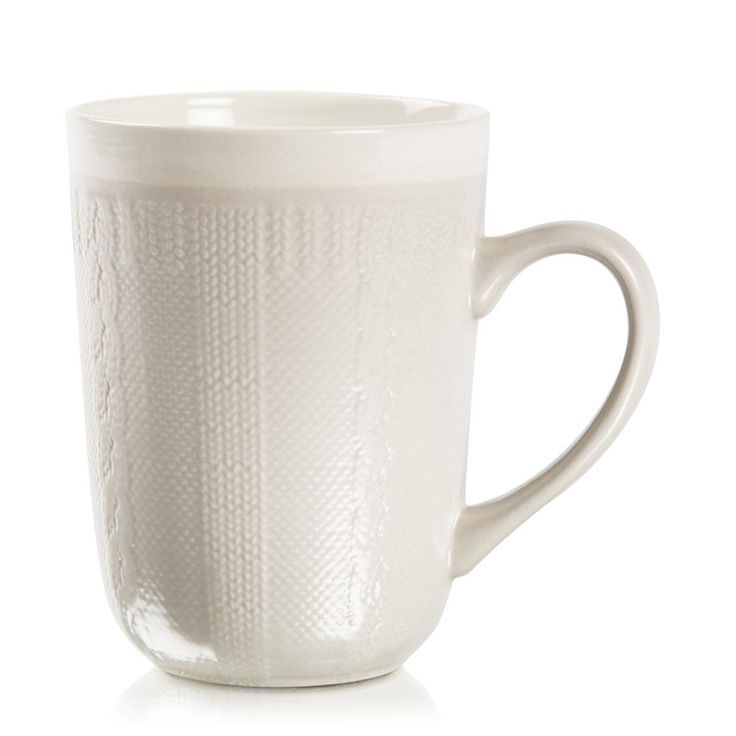 Knitted Stoneware Mug