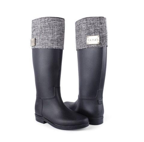 Rain Boots - Black 108