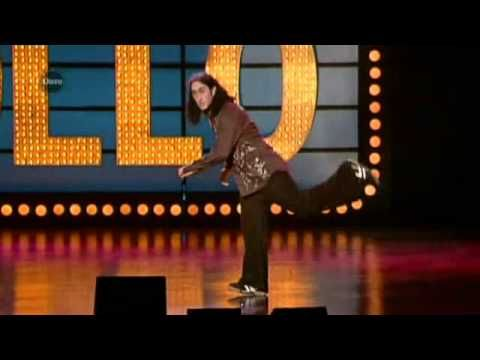 ▶ Ross Noble Live At The Apollo Part 1 - YouTube Went to see this dude last night...mad, manic and hellish funny. Great night. Face and ribs hurt from laughing so hard all evening. ~R~