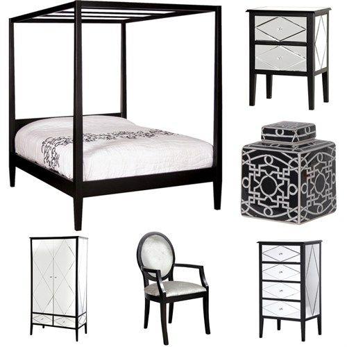 37 best images about bedrooms on pinterest glass design for Cleopatra bedroom set