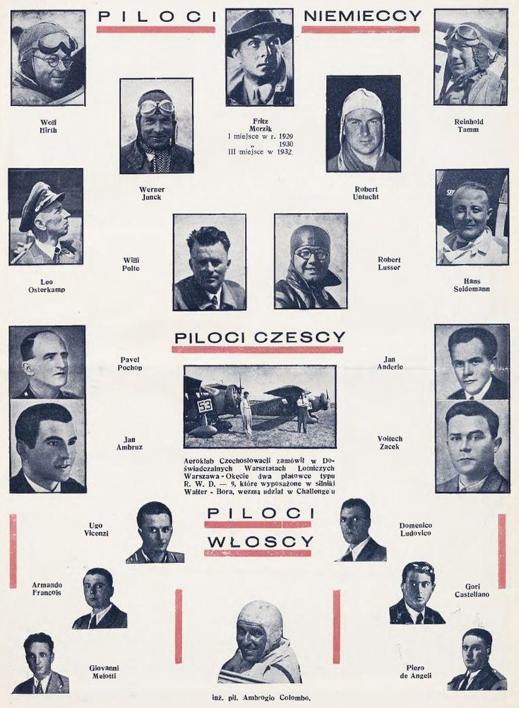Międzynarodowe Zawody Samolotów Turystycznych Challenge 1934 (LiOPGP, cz. 1)