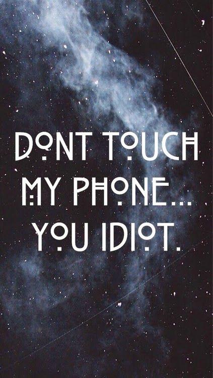 """Oi oi gente, tudo tranquilo?     Sabe aqueles wallpapers para celular com frases do tipo """"Você não sabe a senha hahaha"""" ou """"Sai do meu..."""