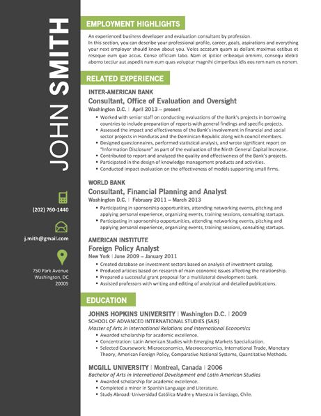 7 best Office Resume Template images on Pinterest Creative - office resume template