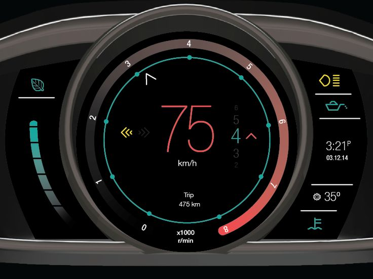 Volvo Instrument Panel Revised by Robert Renteria