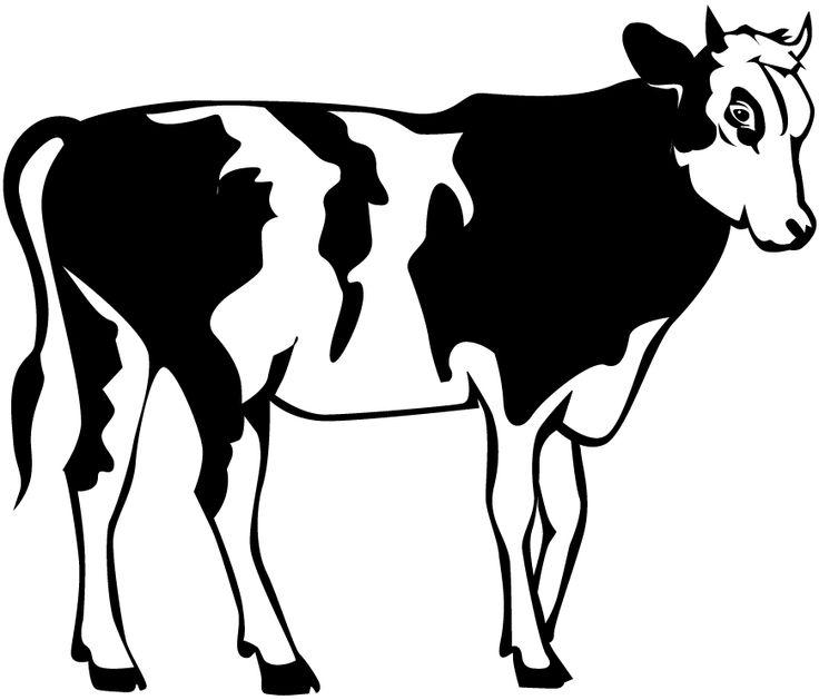 Line Art Cow : Best cow clipart ideas on pinterest cartoon