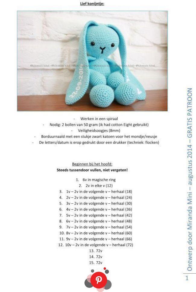 Sweetheart Dressed Bunnies Amigurumi [Free Crochet Pattern ...   969x650