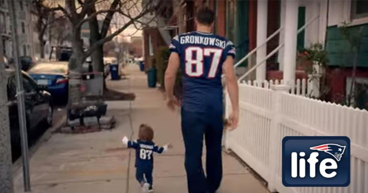 Who wouldn't want to walk in Rob Gronkowski's shoes?