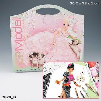 Top Model Glamour Special Colouring Book: Amazon.co.uk: Office Products