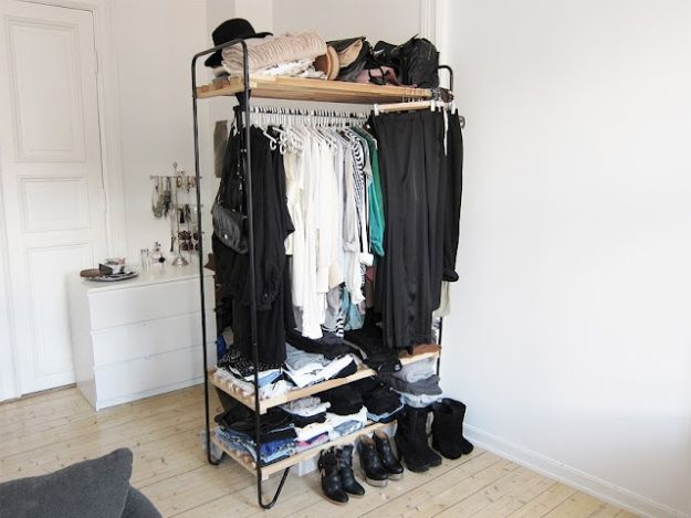 No Closet? No Worries; 4 Options for Faking It / Live Simply by Annie