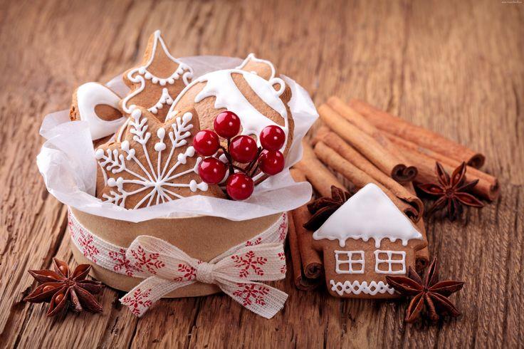 Pierniki, Świąteczne, Cynamon