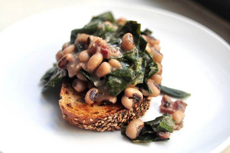 Black Eyed Peas and Collards Recipe | Leanne Brown