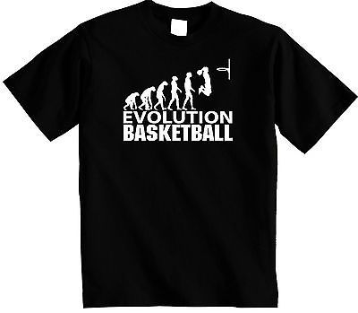 #Men's ##basketball t-shirt | evolution of man #basket ball t shirt | free uk p&p,  View more on the LINK: http://www.zeppy.io/product/gb/2/122325924421/