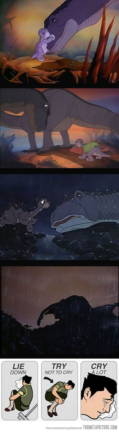 The land before time.. My reaction.